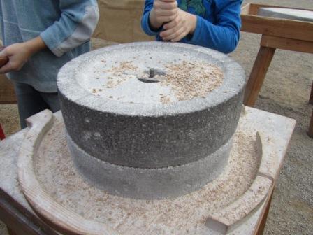 römische Rundmühle