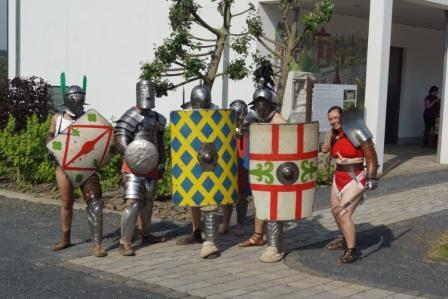Gladiatoren machen sich bereit
